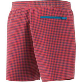 adidas Check CLX SH SL Shorts Hombre, rojo